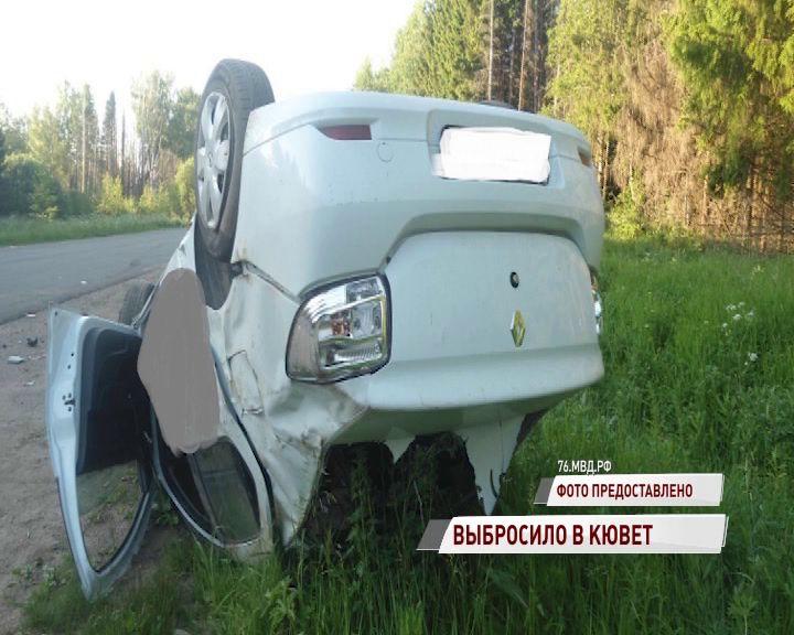 В Переславском районе машина вылетела в кювет: есть пострадавшие
