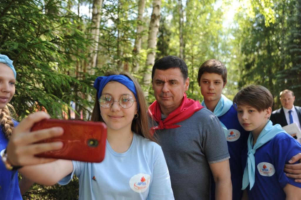 Дмитрий Миронов дал старт проекту «Артек Ярославии»