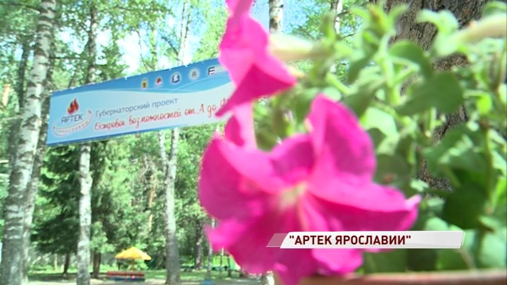 Дмитрий Миронов дал старт проекту «Артек Ярославии» в лагере имени Горького