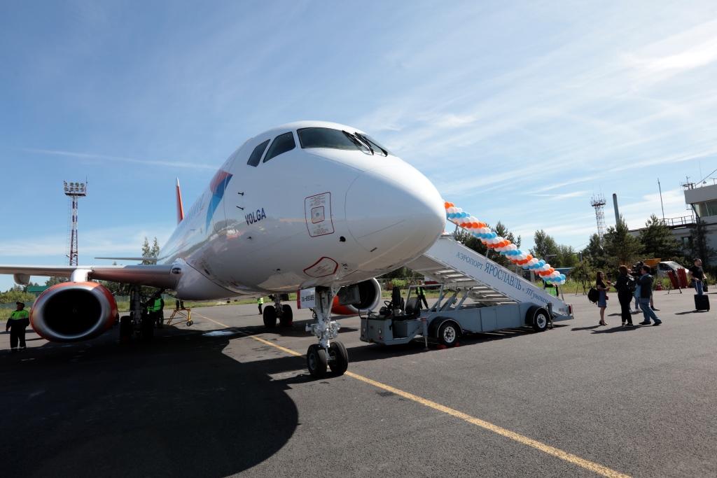 В столицу Кубани из Туношны: в аэропорту открыли новый рейс