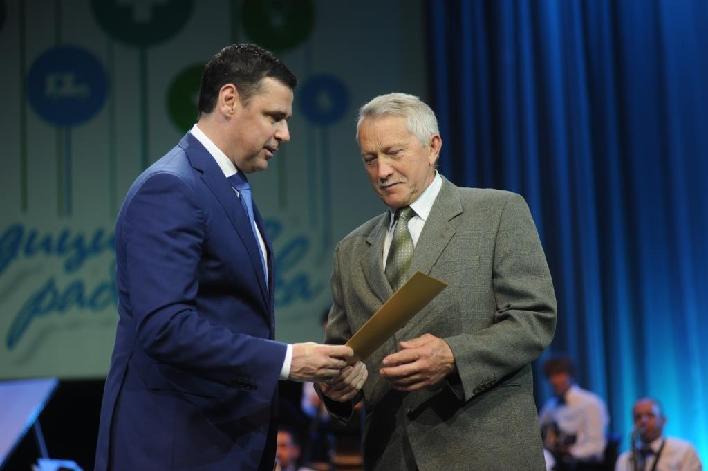 Губернатор Дмитрий Миронов поздравил медработников с профессиональным праздником