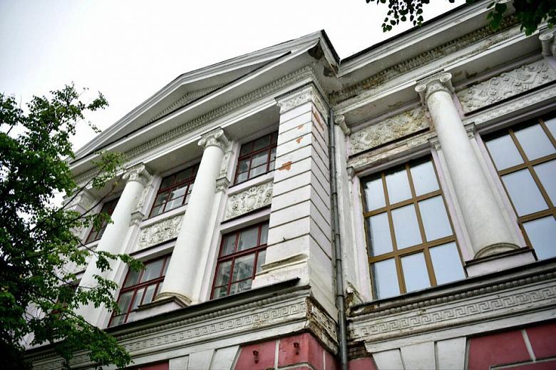 Городской дворец пионеров в Ярославле ждет обновление