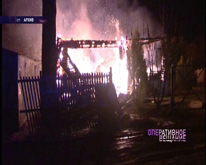 Под Ярославлем дом выгорел дотла: есть погибший