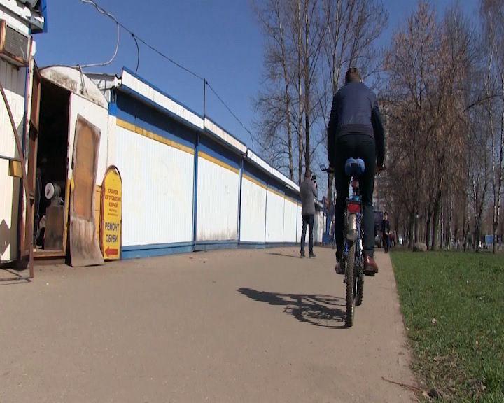 Во Фрунзенском районе задержали местного вора велосипедов