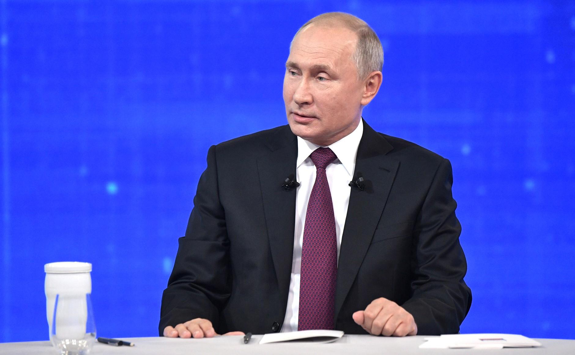 Президент Путин высказал свое мнение о фейковых новостях в сети