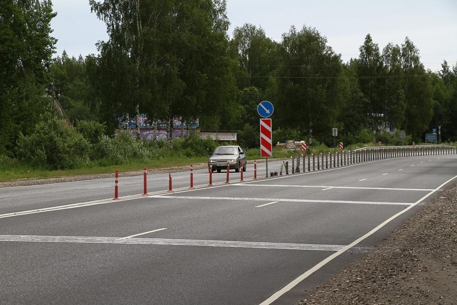 В Рыбинске впервые нанесли шумовую разметку