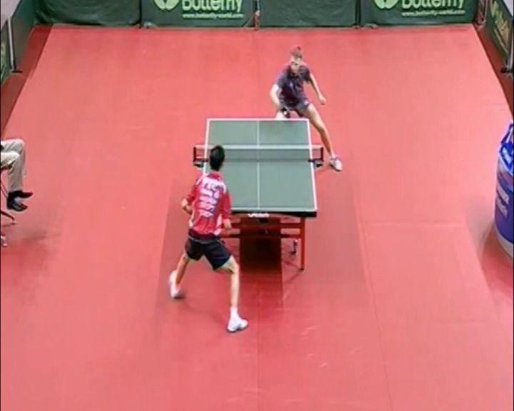 Александр Шибаев вышел в четвертьфинал турнира по настольному теннису