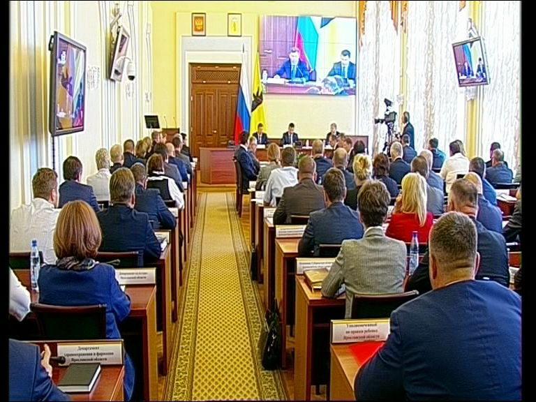 Заседание правительства Ярославской области от 26.06.19