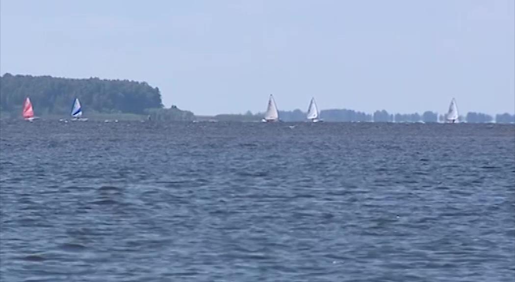 На Рыбинском водохранилище прошел «Кубок Рыбинского моря» по парусному спорту