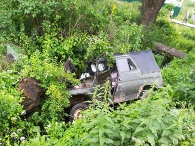 «УАЗ» вылетел в кювет: погиб мужчина