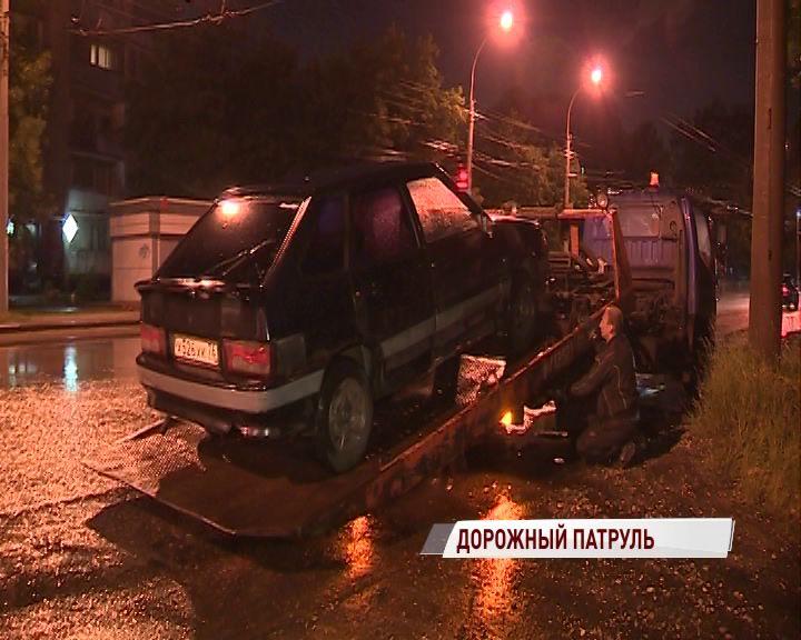 «Бахус» в Ярославле: более 20 водителей сели пьяными за руль