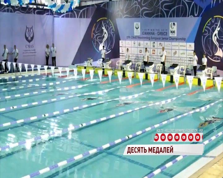 Десять медалей увезли ярославские пловцы с Чемпионата Европы