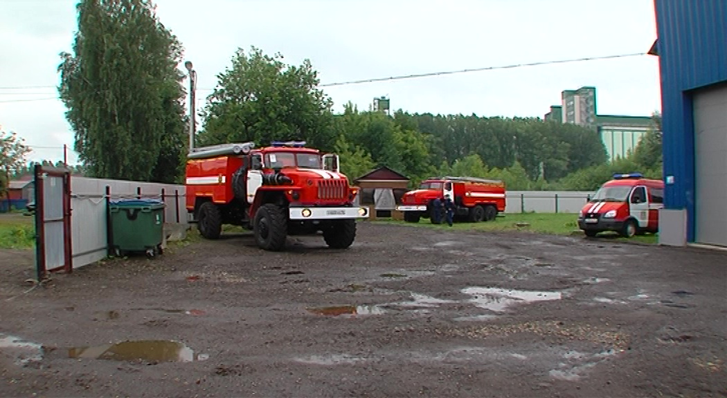 В пожарные части региона поступила новая техника