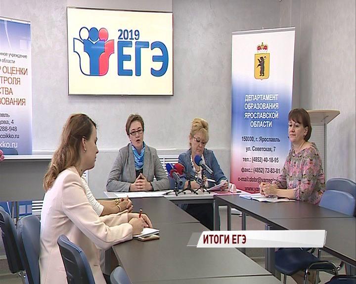 В Ярославской области подвели итоги ЕГЭ