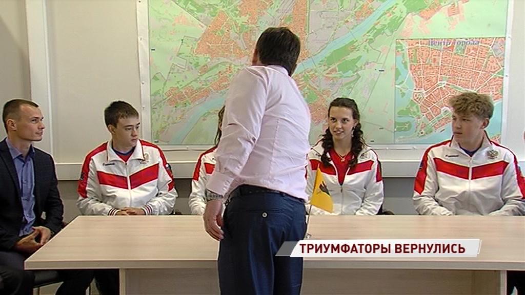 Ярославские гиревики вернулись с пятью золотыми медалями с чемпионата Европы
