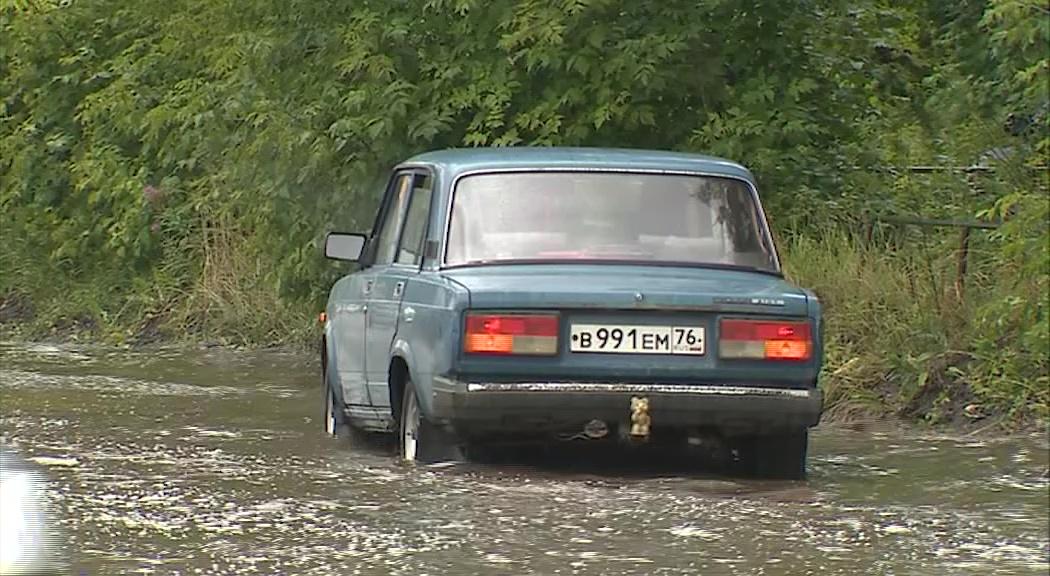 Экстремальные ливни в Ярославле: что происходит на улицах города в непогоду