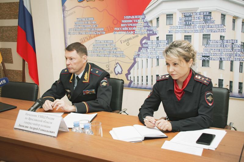 Главный полицейский региона: «В Ярославской области растет число преступлений»