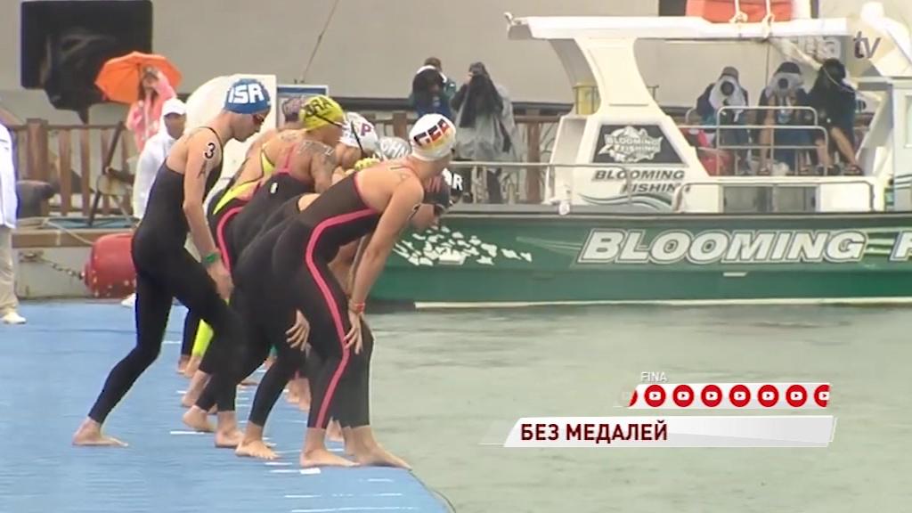 Кирилл Абросимов не смог взять медаль на чемпионате мира по плаванию на открытой воде