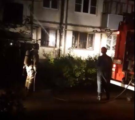 «Лишь бы не взорвался»: пожар в многоэтажке в Брагине напугал жителей