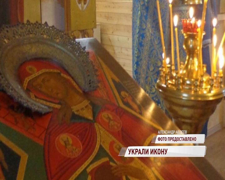В селе Пестрецово из храма украли редкую икону Пресвятой Богородицы