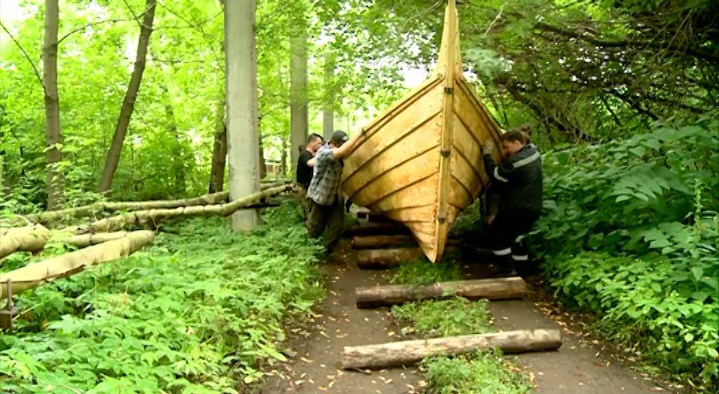 Ладья из прошлого отправится в плавание на Рыбинское водохранилище