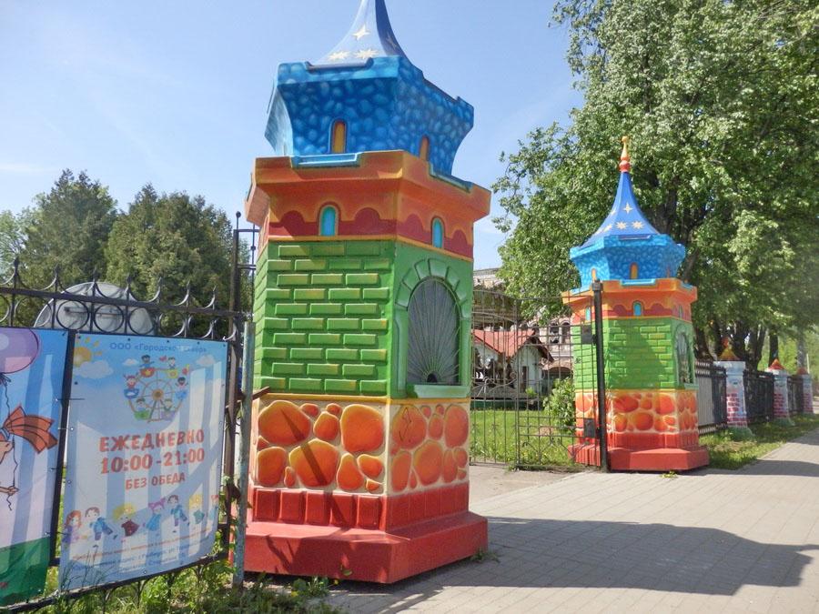 Владельца парка аттракционов в Рыбинске попросили убрать карусели с природоохранной зоны
