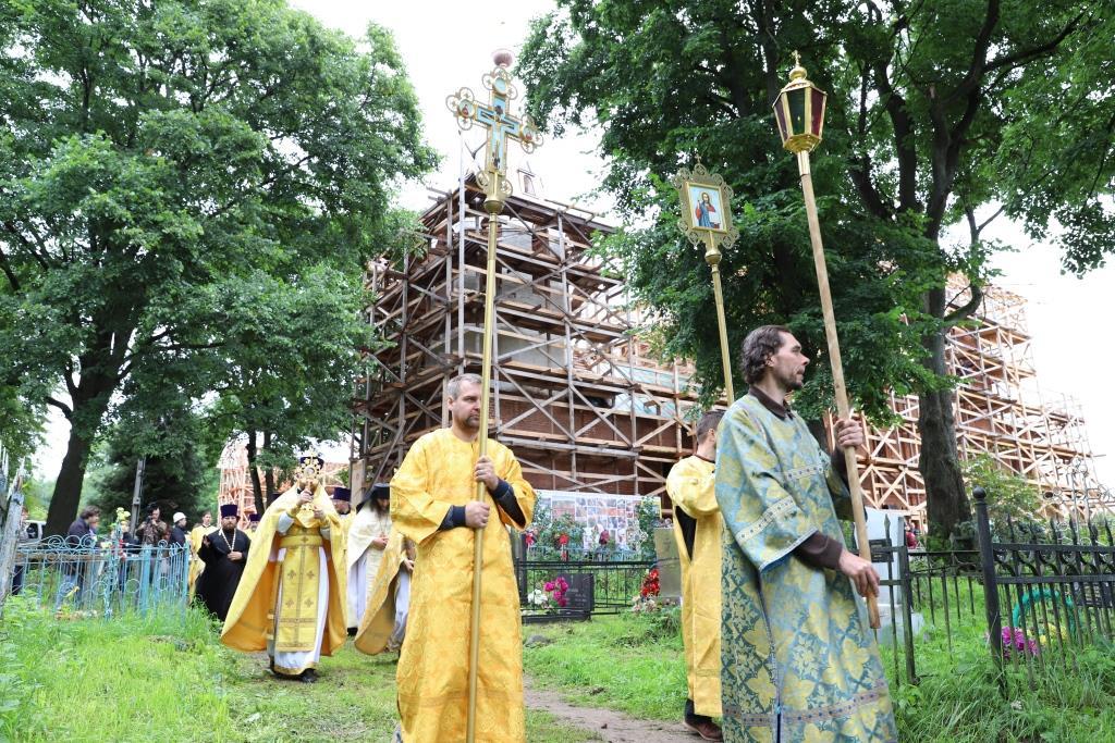В Хопылеве прошел VI Всероссийский фестиваль культуры и искусства имени Феодора Ушакова