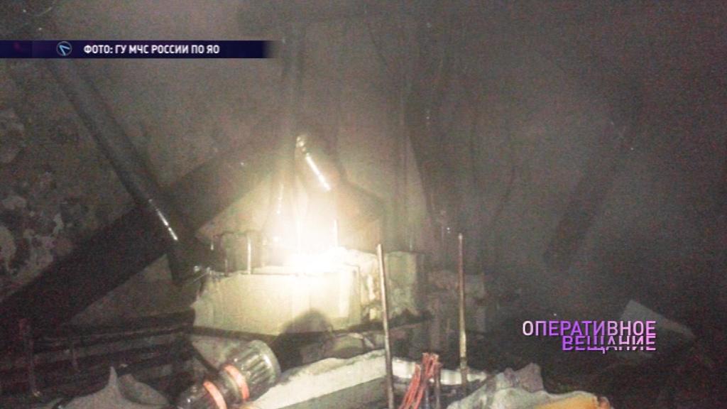 На приборостроительном заводе в Рыбинске произошел пожар