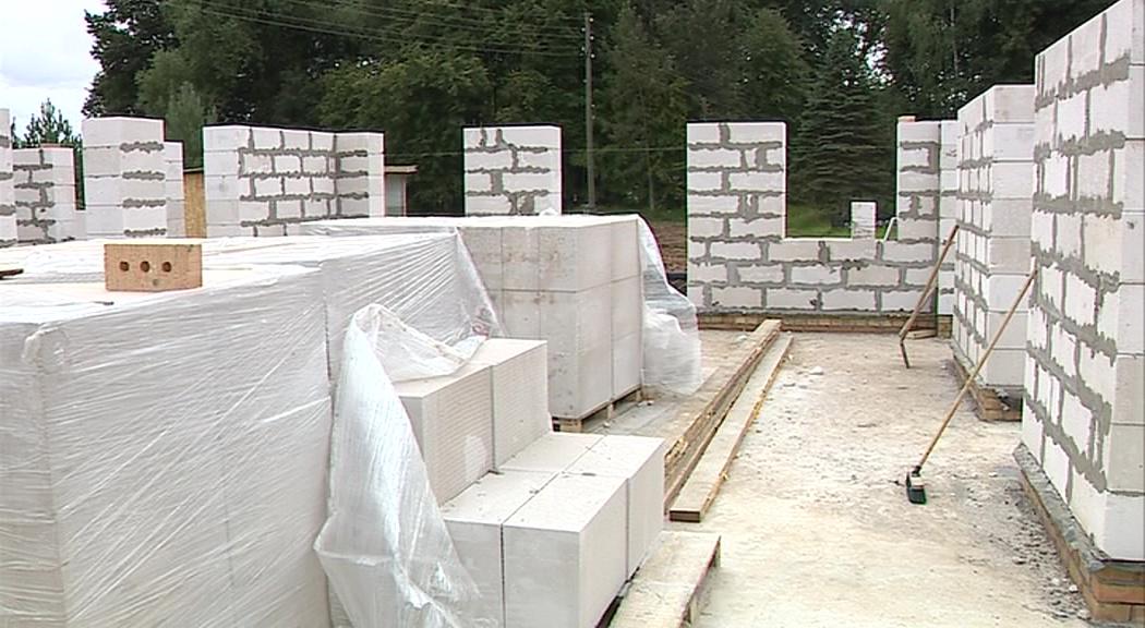 В Некрасовском районе строится новый сельский дом культуры
