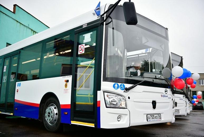 В Ярославле перед зимой закупили автобусы с кондиционерами