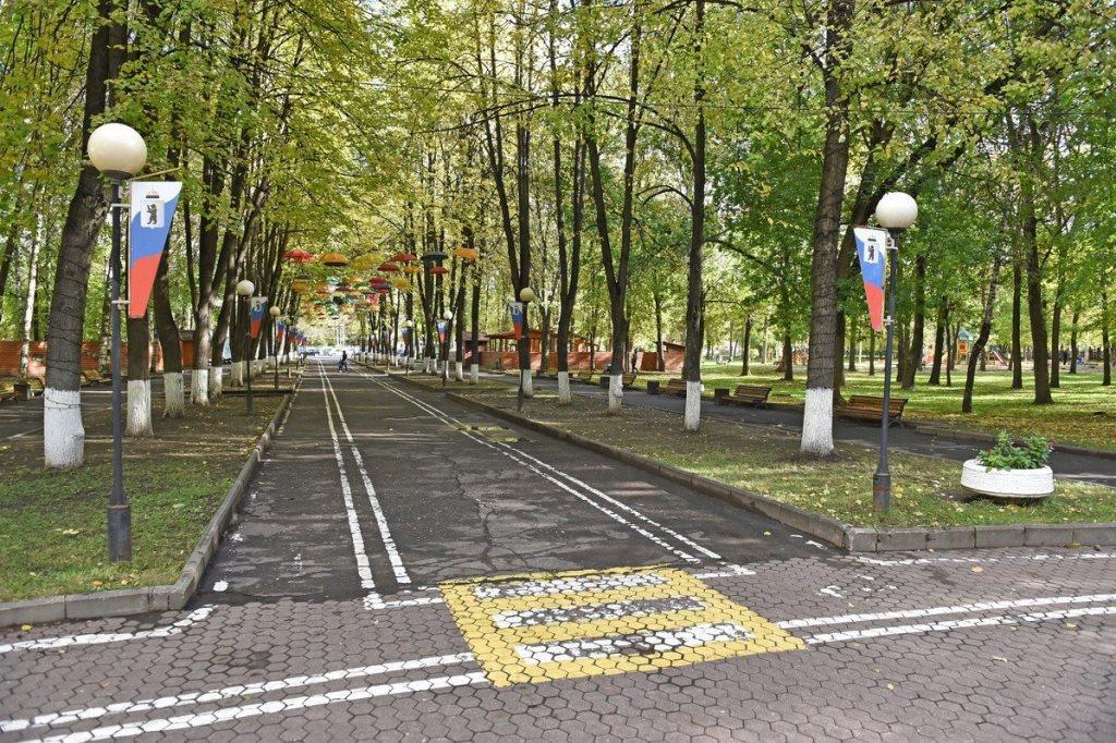 «Решаем вместе!»: в Ярославле началось благоустройство двух парков