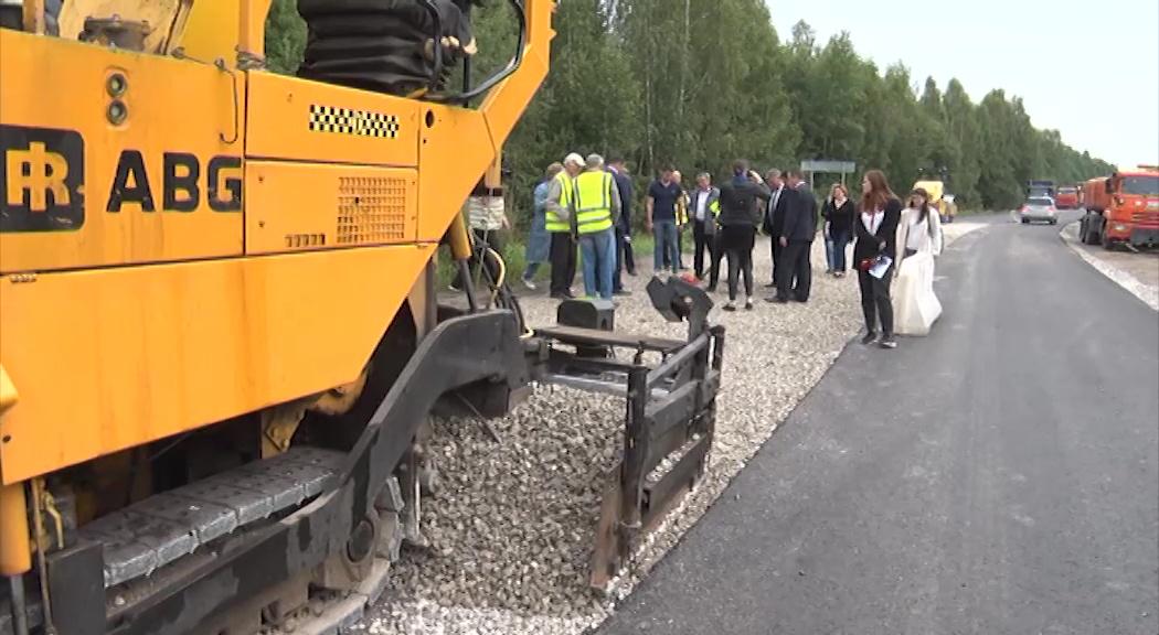 В Рыбинском районе оценили ход ремонта дорог по национальному проекту