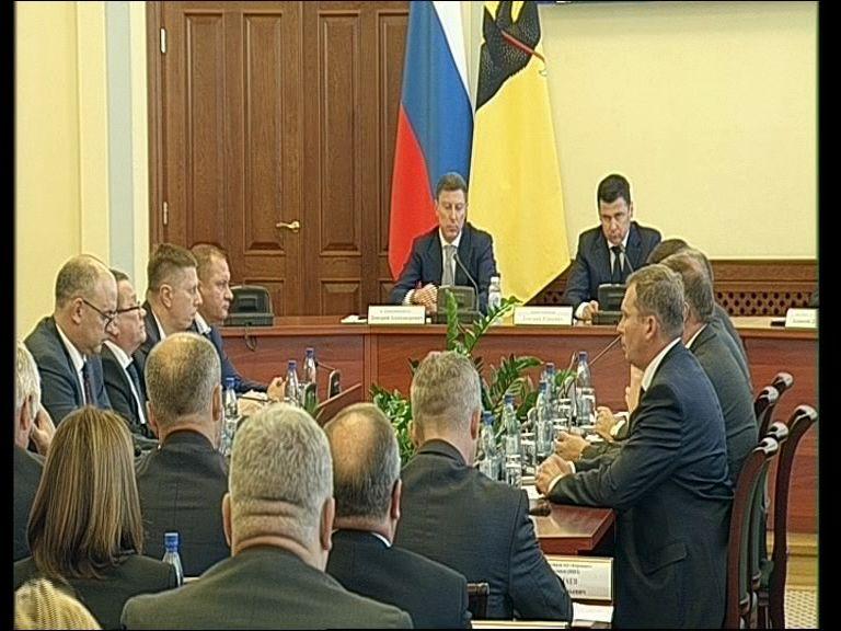 Заседание правительства Ярославской области от 14.08.19