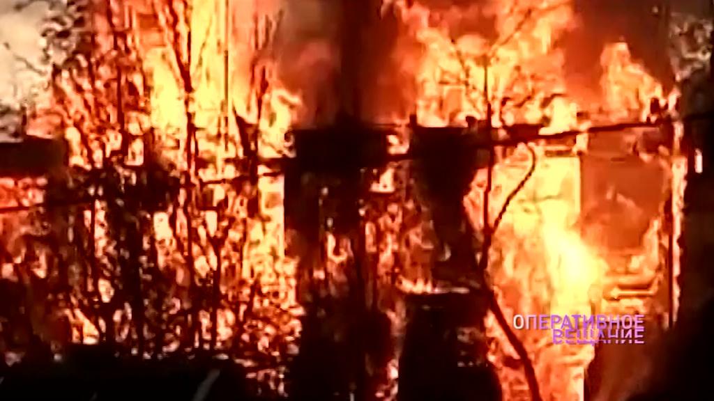 Под Переславлем огонь уничтожил большой частный дом