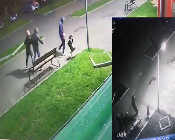 ВИДЕО: вандалы устроили погром в Аллее Моторостроителей