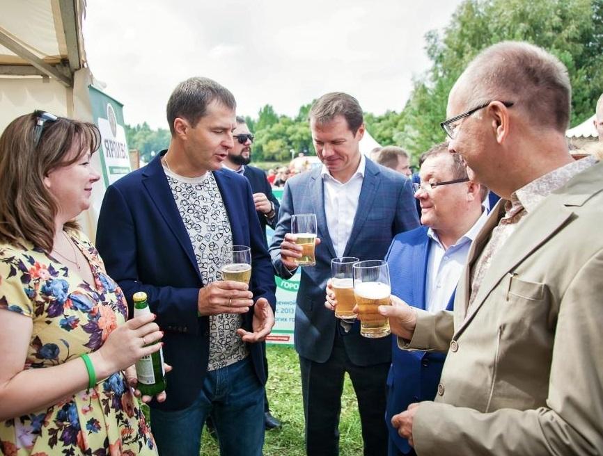 5000 человек посетили площадку Пивзавода «Ярпиво» во время гастрономического фестиваля «Пир на Волге»