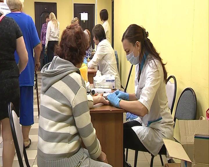 Жители Варегово смогли пройти комплексное медицинское обследование
