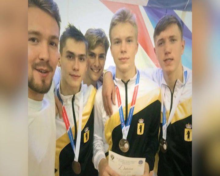 Ярославские рапиристы завоевали «бронзу» на летней Спартакиаде