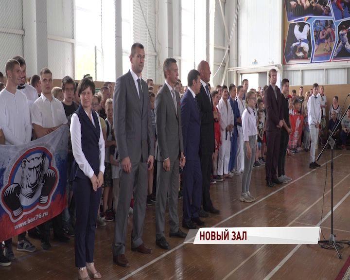 Главным гостем первого фестиваля единоборств в Туношне стал Александр Карелин