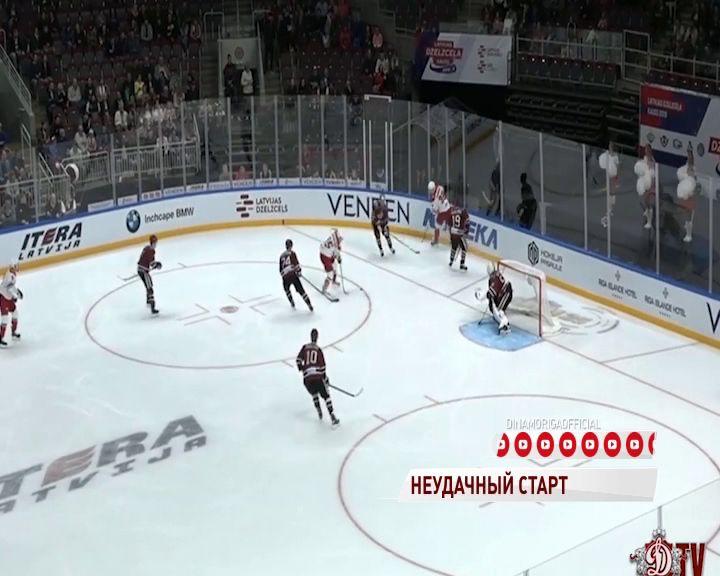 Рассказываем подробности первой игры «Локомотива» на Кубке ЛЖД