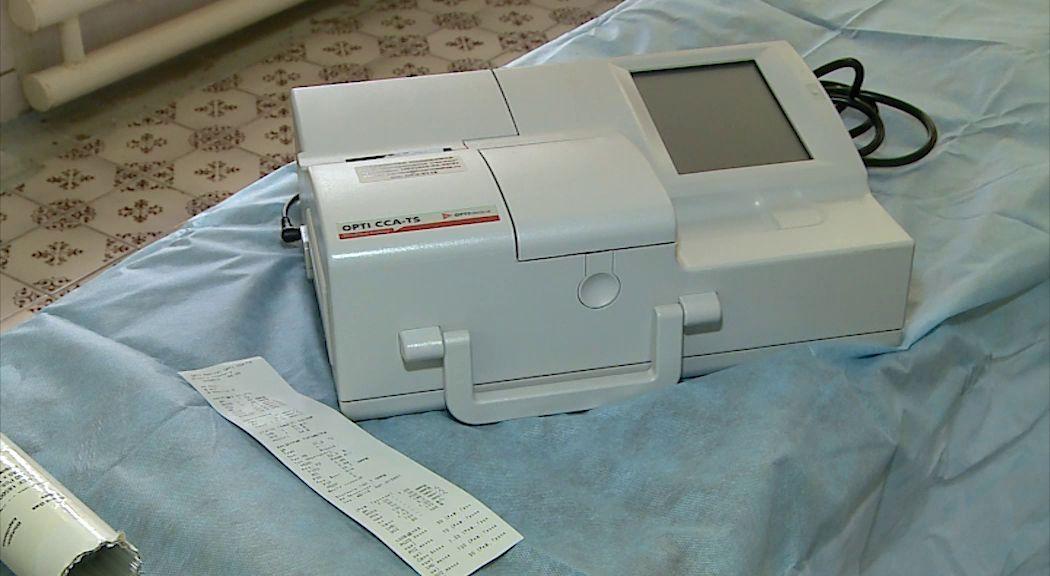 В детской городской больнице Рыбинска появился портативный анализатор крови