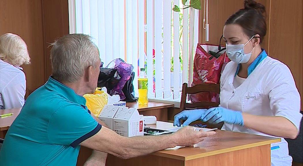 В селе Рождествено жители прошли медицинское обследование