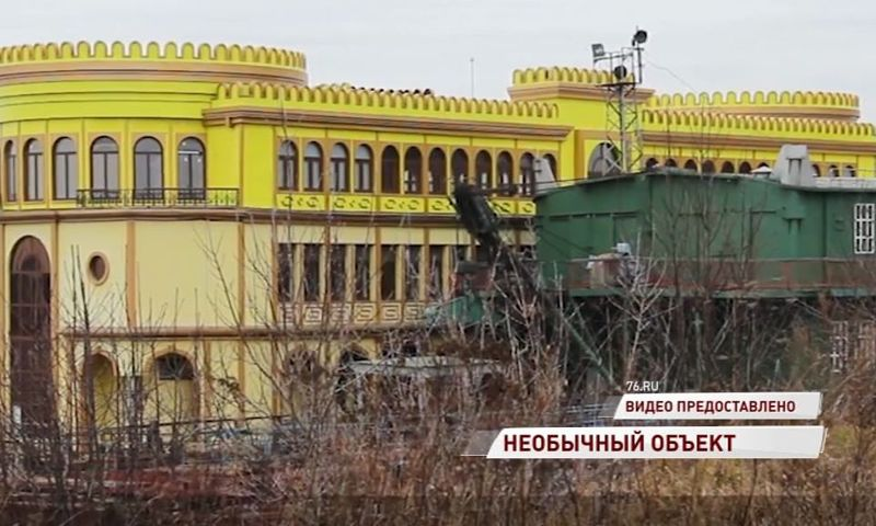 В Ярославле на Волге затонул желтый дебаркадер