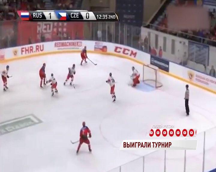 Молодежная сборная России стала победителем Турнира четырех наций