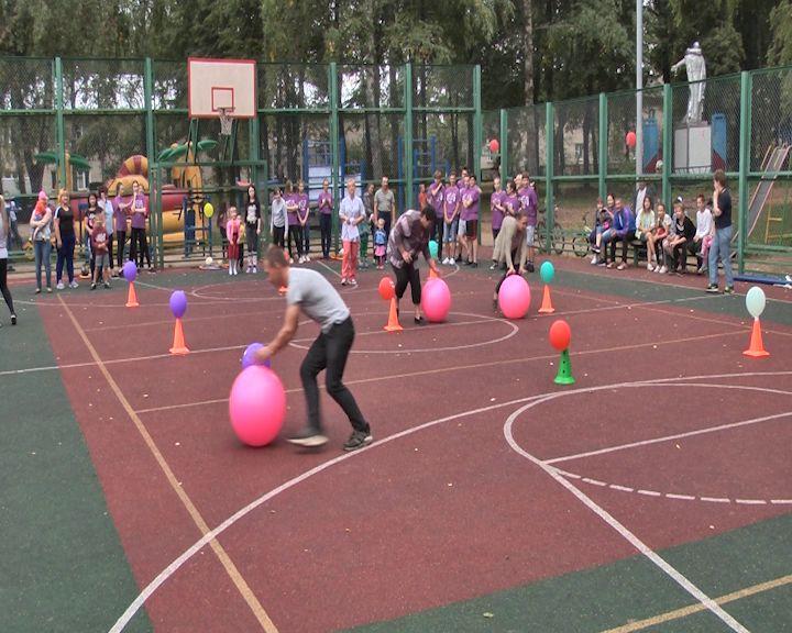 Жители Дубков отметили день рождения поселка по-спортивному