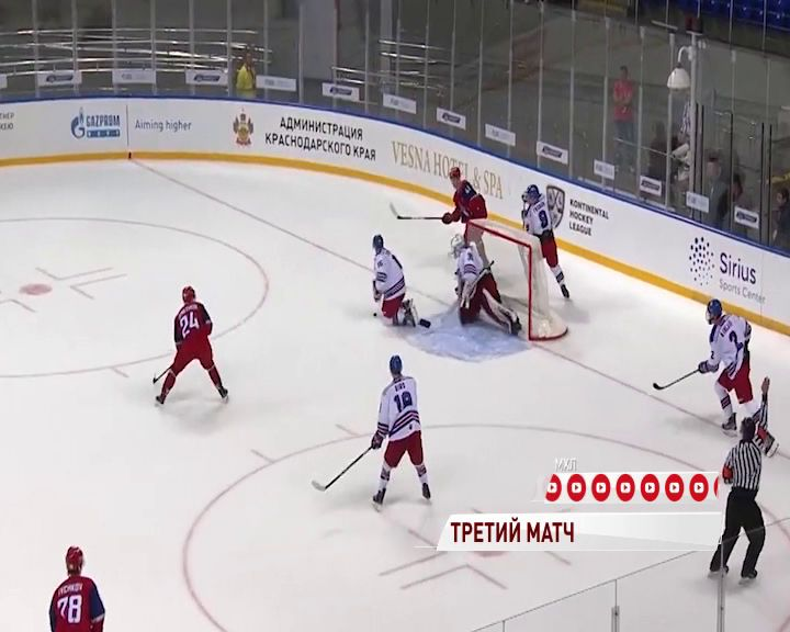 «Локо» встретится на льду со шведским «МОДО»