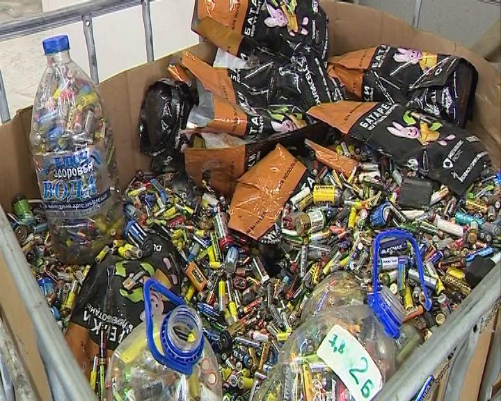 В Ярославской области начали утилизировать использованные батарейки