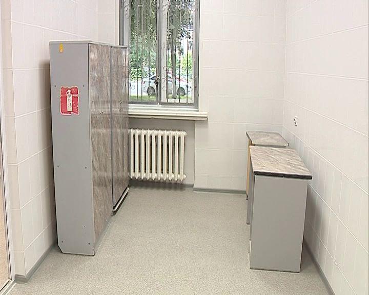 В поликлинике №1 в Ярославле полным ходом идет ремонт
