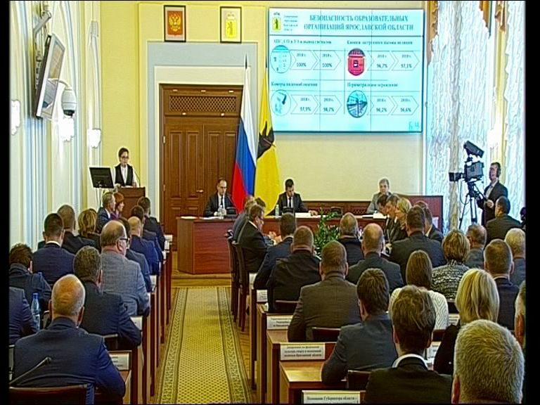Заседание правительства Ярославской области от 28.08.19