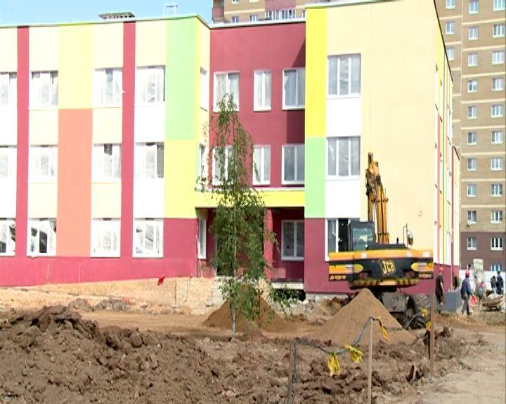 В новом садике в Брагине будут лифты